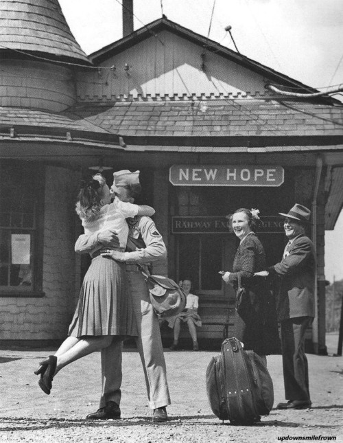 New Hope, Pennsylvania, 1945